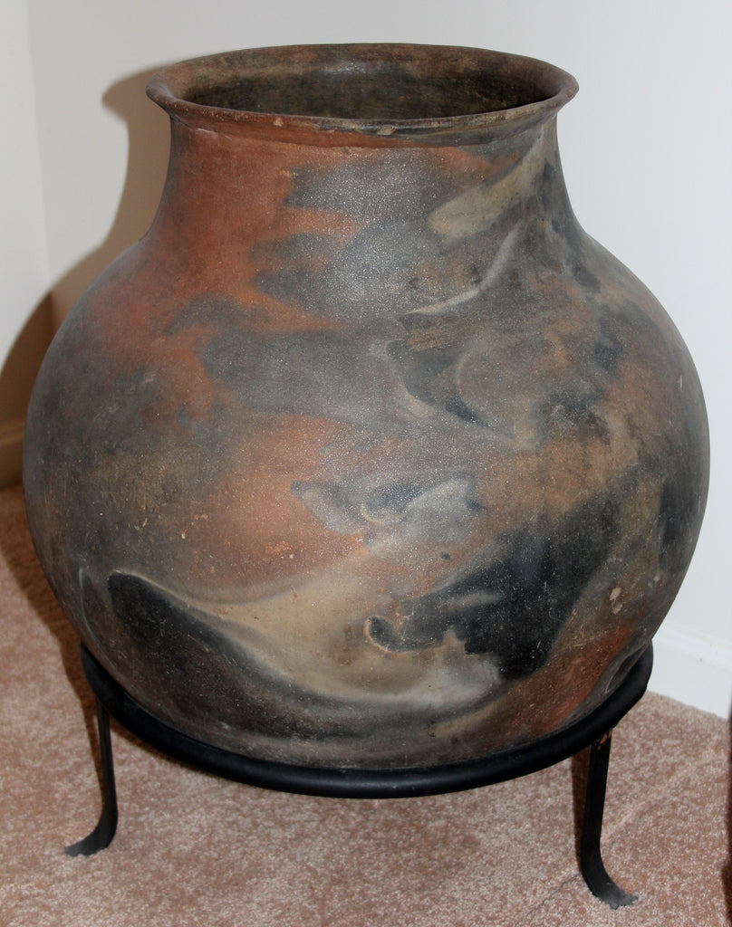 Native American Extremely Large Pottery Storage Olla, Ca 1960's, #808