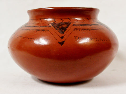 Native American Pottery, Historic Maricopa Pottery Bowl, Ca 1930's, #819 c Sold