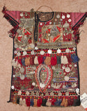 Nomad Turkmen Children's Garment for Special Ceremonies, #886