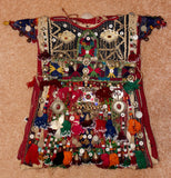 Historical Nomad Turkmen Cherjew Village Children's Ceremonial Garment, CA 1920's, #923