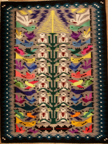 """Tree of Life"" Weaving, by  Teresa Foster, #1330"