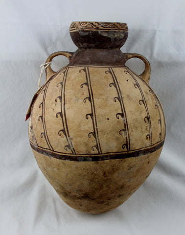 Pre-Columbian, Chancay Pottery Storage Vessel, ca. 800 to 1300 CE #1395