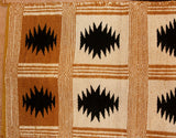Navajo Rug : Rare 1970's Two Faced Navajo Rug,#255