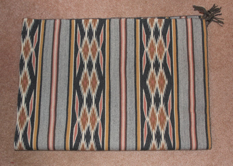Native American Vintage, Large Navajo Crystal Rug/Weaving, by Mary Johnson, Ca 1970's, #1573