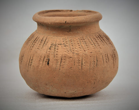 Historic Terracotta pottery from the Ayutthaya Ruins outside of Bangkok, Thailand, #1646