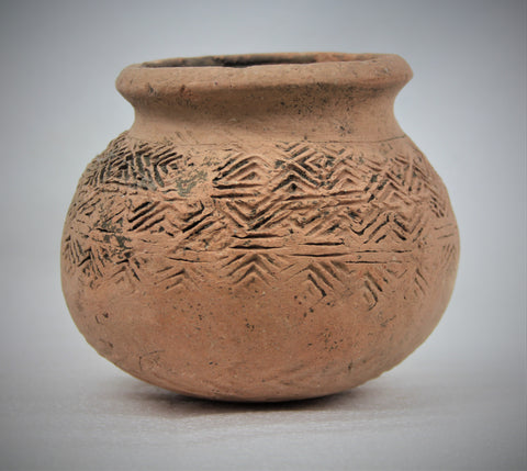 Historic Terracotta pottery from the Ayutthaya Ruins outside of Bangkok, Thailand, #1647