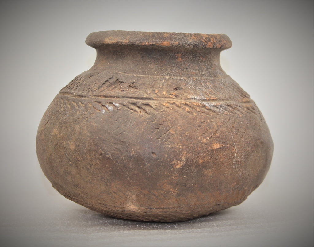 Historic Terracotta pottery from the Ayutthaya Ruins outside of Bangkok, Thailand, #1648