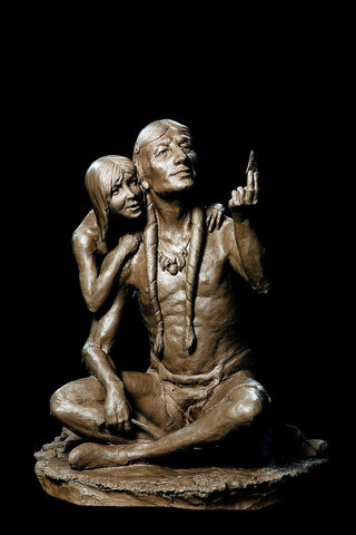 "Western Bronze Sculpture, by Renowned Western Artist, Jeff Wolf, Entitled ""Perfection"", Limited Edition, To Be Cast 14 of 20, #1012"