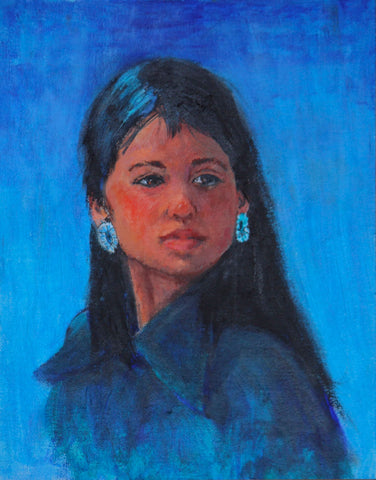 "Traditional Western Art, ""Navajo Pride "", by Linda Gulinson, #1353"