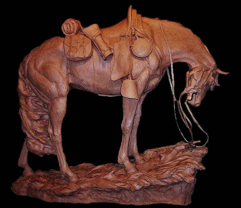 "Western Bronze Sculpture, by Renowned Western Artist Jeff Wolf, Entitled ""Unspoken Honor"" Cast To Order, Limited Edition (10)  #1004,"