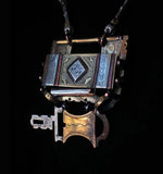 Custom Made Necklace: Tuareg Lock From Niger in North Africa #1109