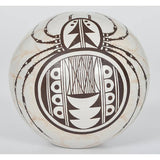 Native American, Burel Naha (b. 1944) Exquisite Pottery Seed Jar, #1121