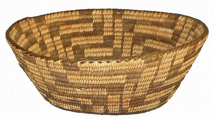 Pima Basket : Pima Indian Basket #14