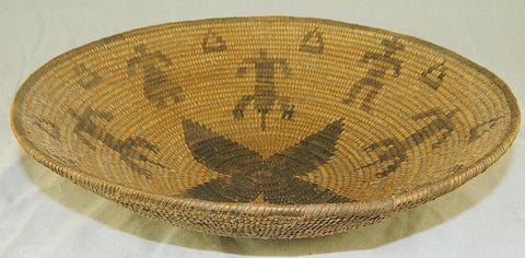 Indian Basket : Fine Woven Indian Basket #23