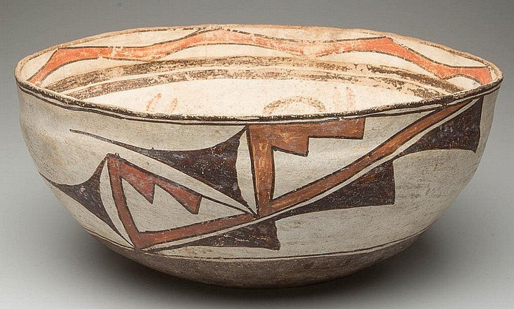 Zuni Pottery : Native American Zuni Bowl #34