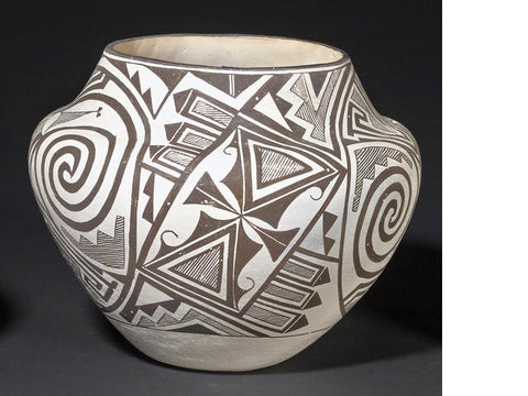 Native American Acoma Jar : by Marie Z. Chino #194