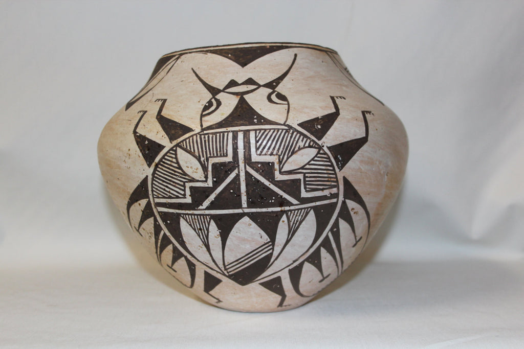 Southwest Pottery : Very Rare Acoma Bettle Pot #145