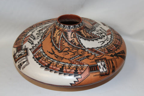Native American Navajo Pottery Jar, by the McKelvey Sisters #63