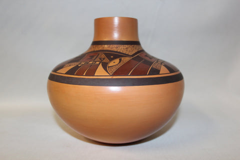 American Indian Pottery : Native American Hopi Pottery Jar by Steven Lucas #71
