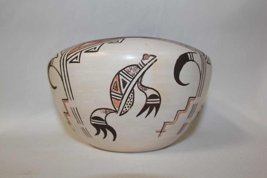 Hopi Pottery Jar : Native American Hopi Pottery Jar by Claudina Lomakema #74
