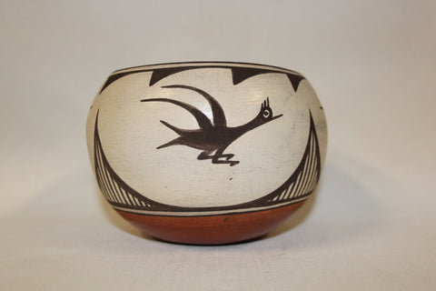 Native Pottery : Native American Zia Pottery Bowl #109-Sold