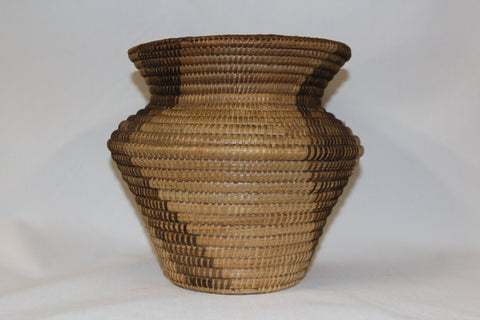Pima Basket : Native American Pima Olla Basket #174