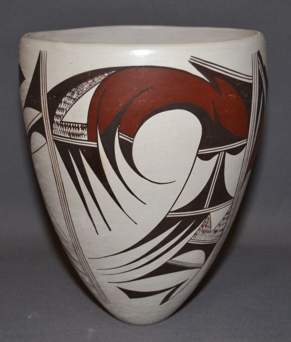 Indian Vase : Native American Hopi Pottery Vase, by Marianne Navasie #229