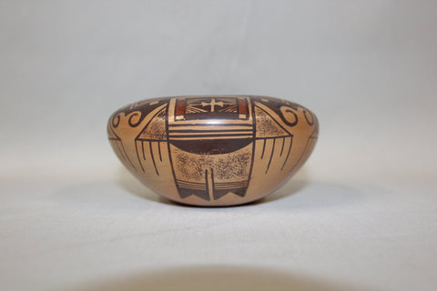 Hopi Pottery :  Native American Hopi Pottery Bowl, by Reva Polacca Nampeyo #112 Sold