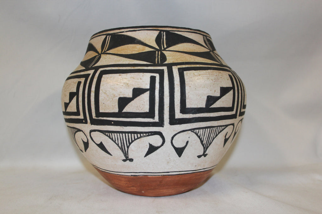 Native American : Outstanding Native American Acoma Water Jar/Olla #256