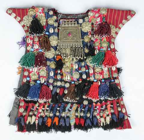 Ceremonial Vestment : Central Asia, Fantastic Afghanistan Child's Ceremonial Vestment #350