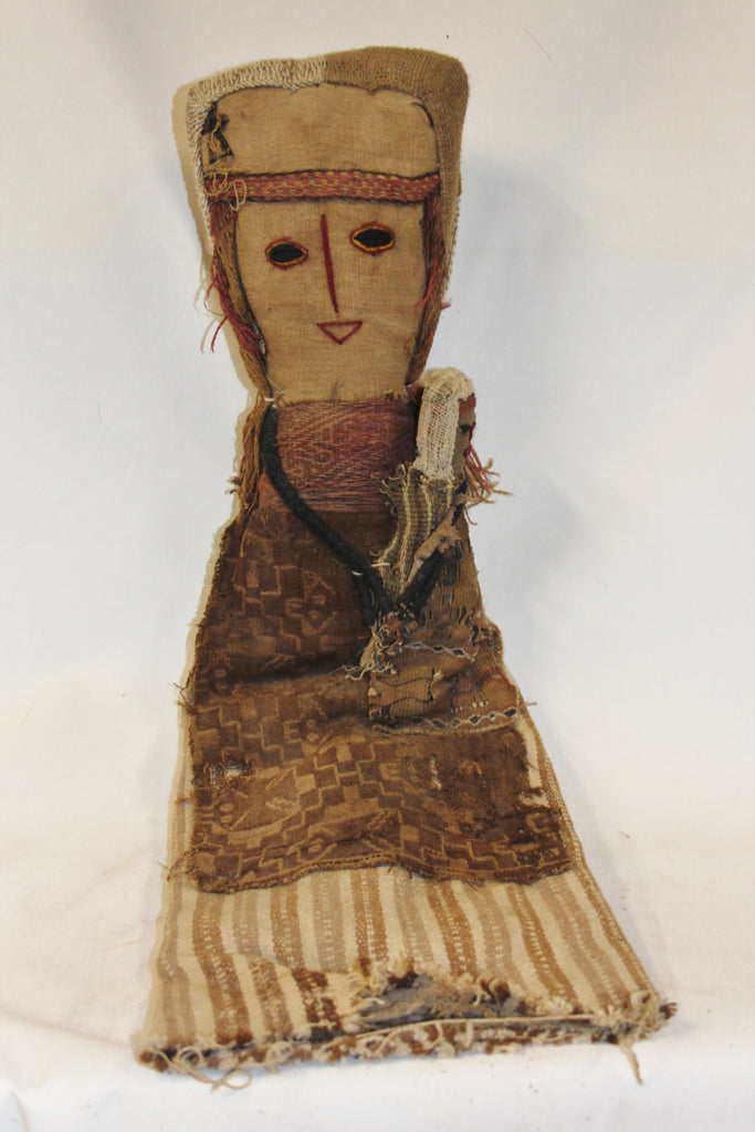 Large Chancay Peruvian Funerary Doll #349.