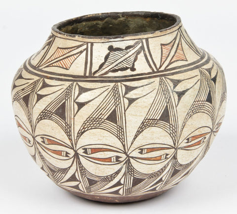 Native American Zia Pottery Pot #312