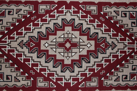 Navajo Ganado/Two Gray Hills Regional Style Weaving by Helen Allen Johnson #324