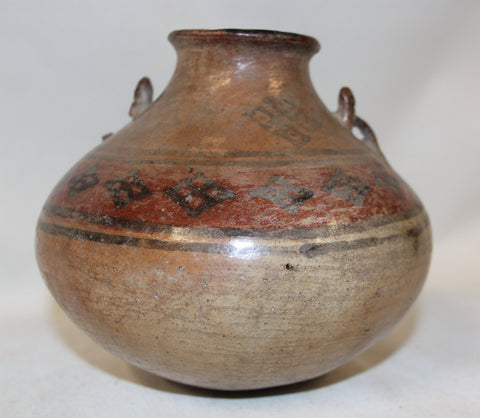 Pottery Jar : Very Nice Pre-Columbian Wari Pottery Jar From Peru #364 SOLD