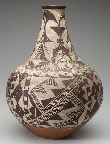 Native American Historic Acoma Pottery Jar #30