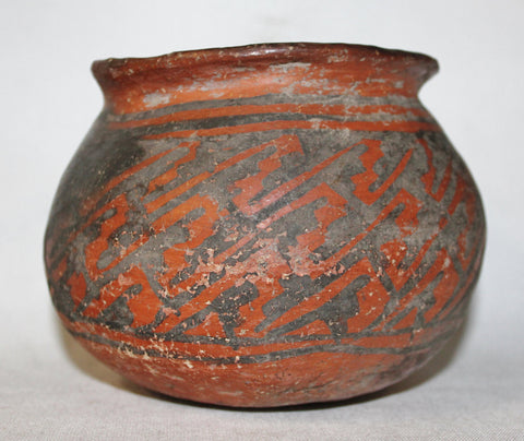 Pottery : Curiosity # 3 Prehistoric Native American Utilitarian Pottery Jar, Identify and Get 15% Off Any Listing in The Store #475 SOLD