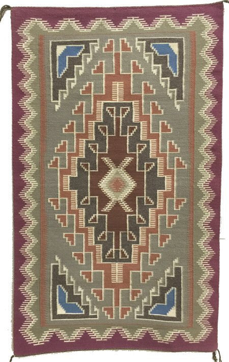 Native American Rug, Navajo Rug/Weaving, ca 1950's #500