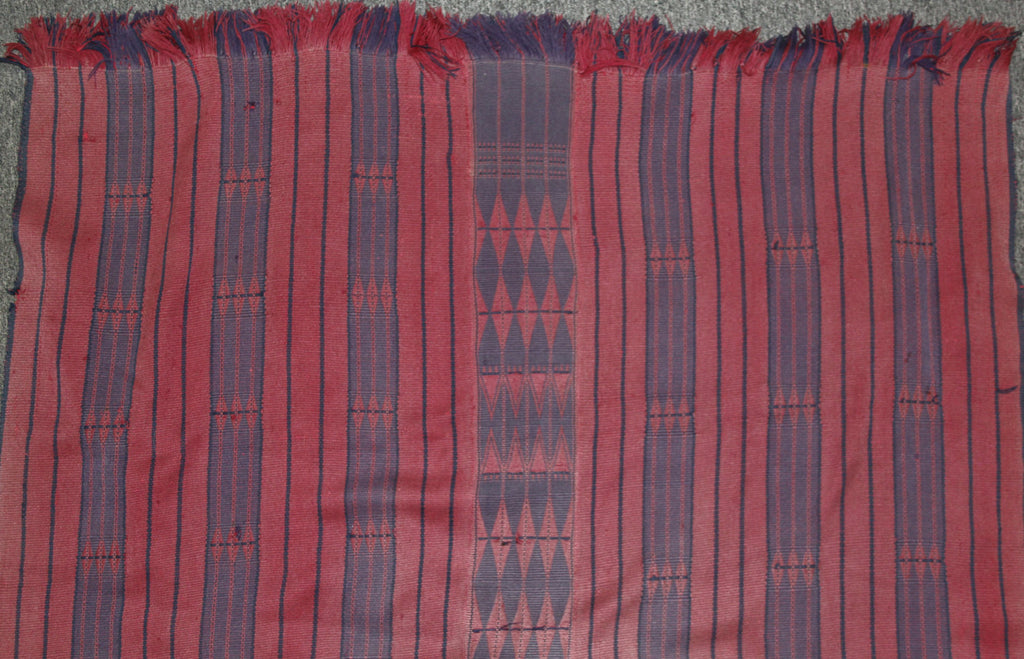 Hand Woven : Authentic Naga Rare AO/Phom Acrylic Feast Givers Body Cloth #649