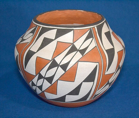 Acoma Poly chrome Pot,.#666-sold