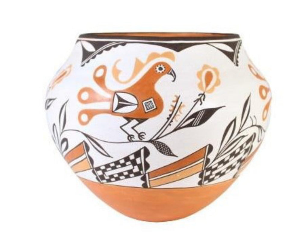 Native American, Vintage Acoma Pottery Jar, by Grace Chino (1929-1994) #1567