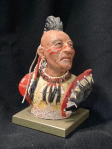 "James Regimbal's, ""Rare and Original Clay Models- MoHawk"" #C 1594"