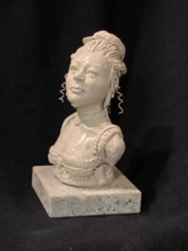 "James Regimbal's, ""Rare and Original Clay Models- Miss Kitty Long Branch Saloon"" #C 1596."