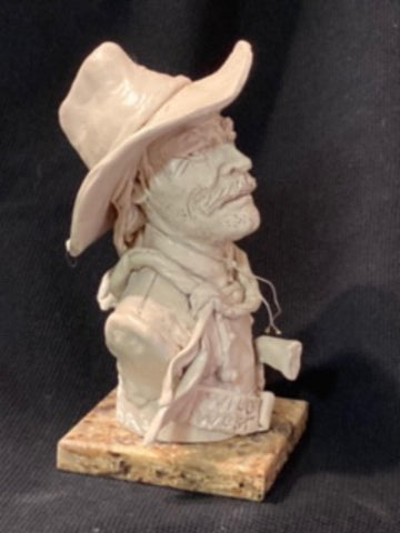 "James Regimbal's, ""Rare and Original Clay Models- Wild West"" #C 1598."