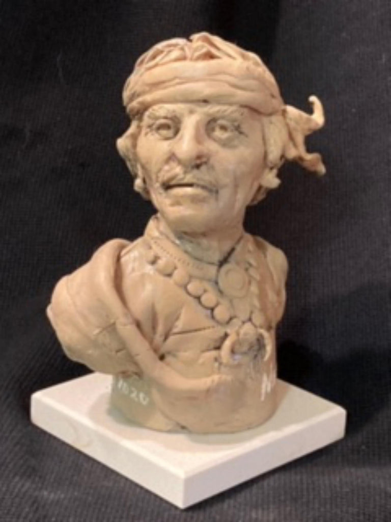 "James Regimbal's, ""Rare and Original Clay Models- Chiricahua"" #C 1600."