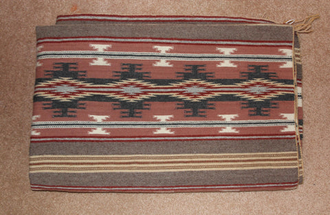 Native American Vintage, Large Navajo Crystal Rug/Weaving, by Mary Johnson, Ca 1970's, #1572
