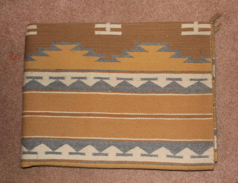 Native American Vintage, Large Navajo Crystal Rug/Weaving, by Mary Johnson, Ca 1970's, #1571