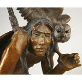 "Western Artist, Lincoln Fox, Bronze Sculpture titled, ""First Light"", Limited Edition of 75, #1686"