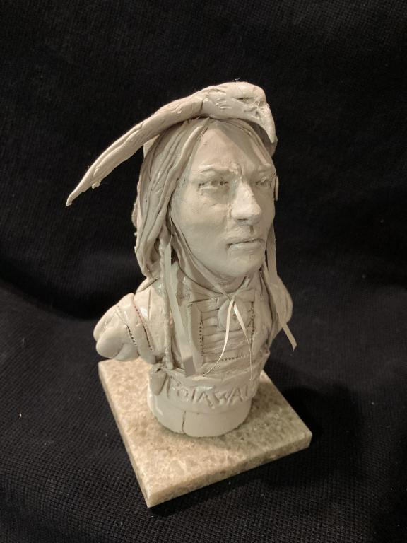 "James Regimbal's, ""Rare and Original Clay Models- ""Polawatome"" #C 1621"