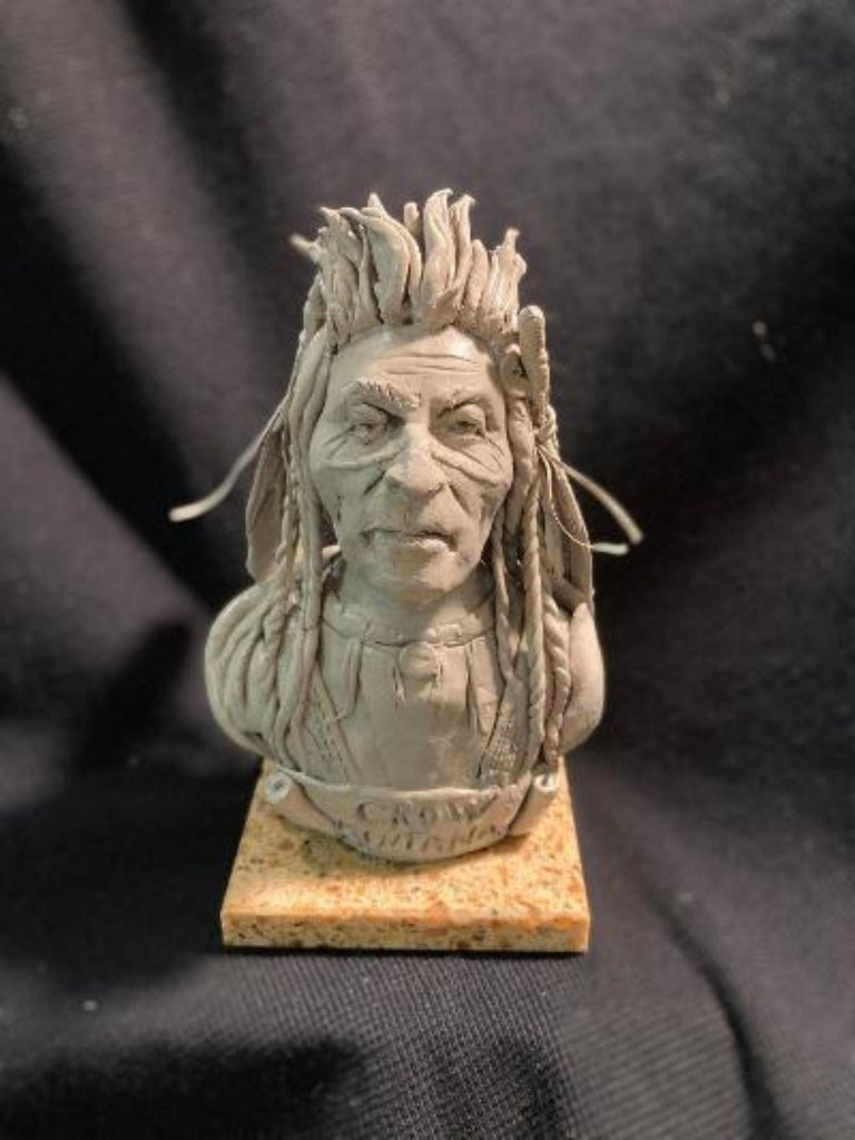 "James Regimbal's Rare and Original Clay Models, ""Crow Montana"", C 1681"