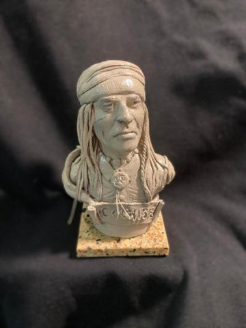 "James Regimbal's Rare and Original Clay Models, ""Cochise"", C 1674"
